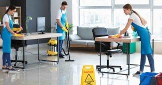 Qui peut s'occuper du nettoyage des bureaux de mon entreprise ?